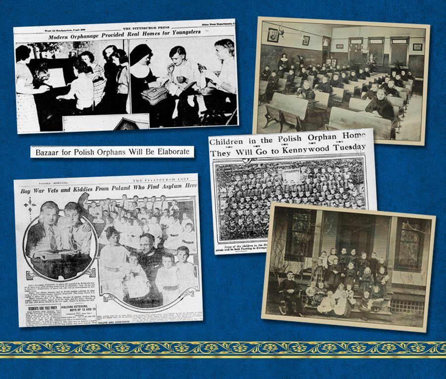 Holy Family Institute newspaper clippings